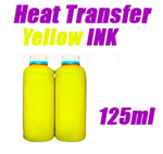 Yellow Heat Transfer Ink 125ml