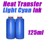 Cyan Light Heat Transfer Ink 125ml