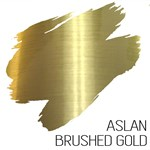 Brushed Gold Metallic Adhesive Vinyl 300mm wide rolls
