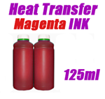 Magenta Heat Transfer Ink 125ml