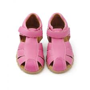 Walnut Shoes - DAISY CLOSED TOE SANDALS [FUCHSIA]
