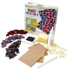 Glass Mosaic Coaster Kit