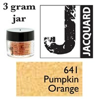Pearl Ex Mica Powdered Pigments - 3g bottles - PUMPKIN ORANGE 641