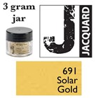 Pearl Ex Mica Powdered Pigments - 3g bottles - SOLAR GOLD 691