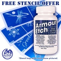 22oz. Armour Etch Glass Etching Cream SPECIAL OFFER