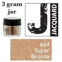 Pearl Ex Mica Powdered Pigments - 3g bottles - SUPER BRONZE 664