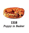 Puppy in Basket 1318