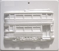 Mould 2222 - Double Decker Tram