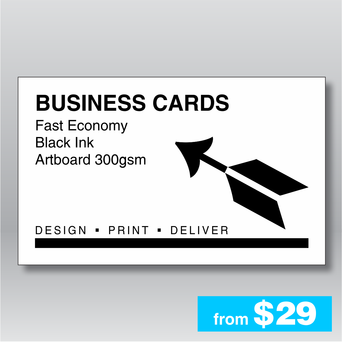 FAST Business Cards - My Favourite Printer - Fast, quality ...