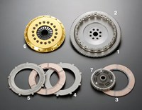 Subaru WRX 5-speed R2CD twin-plate clutch by OS Giken