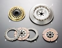 Honda B16A TS2A twin plate clutch for Honda Civic EG/EK VTiR