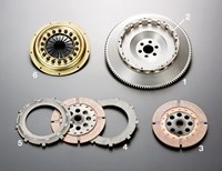 Honda Integra DC2 Type-R B18C TS2A twin-plate clutch by OS Giken