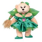 Beanie Kid Lilyan the Leaf Fairy Bear