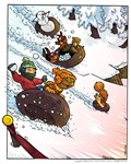 the Great Snow Race