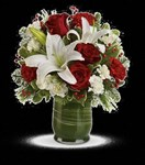 T597-2A Holiday Hues Bouquet