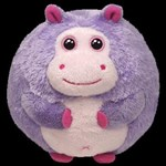 TY Beanie Ballz - DEWDROP the Hippo