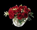 E4-82RBS Contemporary Rose Bouquet