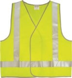 Hi-Vis Safety Vest  Day / Night - Yellow or Orange