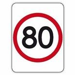 Speed Signs - Class 1 Reflective Aluminium 600x800mm