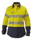 Bisley Women's Lightweight Taped Hi Vis Shirts