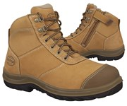 34-662 Oliver Wheat Ankle Zip Safety Boot