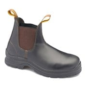 Blundstone 311 Brown Waxy Elastic Sided Safety Boot