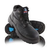 Steel Blue Whyalla Black or Wheat Lace-Up Safety Boot