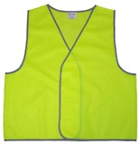 Hi-Vis Safety Vest Orange or Yellow