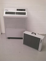 Fral Avalanche 7kw 23,000btu split portable water cooled air conditioner