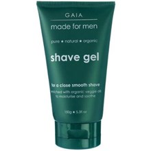 Gaia Made For Men Organic Shave Gel 150g