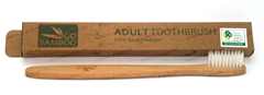 Go Bamboo Biodegradable Toothbrush - Adult