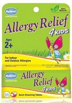 Hyland's Kids Allergy Relief 125 Tablets