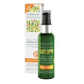 Andalou Naturals Brightening Argan + Omega Natural Glow 3in1 Treatment 56ml