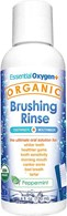 Essential Oxygen Organic Brushing Rinse Peppermint 120mL