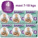 Bambo Nature Disposable Nappies - Maxi - Size 4 - Carton of 180 - RRP $128.95  Our Price $125.95