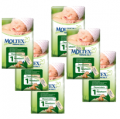 MOLTEX Eco NEWBORN (Size 1) nappies - 6 pack for $87.95 (RRP $89.95)