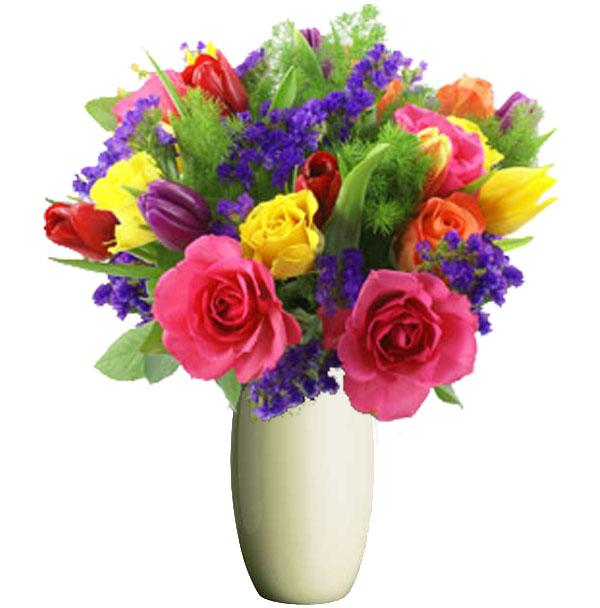 Bright Mix Bunches From 55 Foster Amp Leongatha Florist