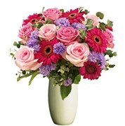 Beautiful Roses and Gerberas from $55