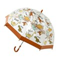 Bugzz Kids Dinosaur Clear Dome Umbrella
