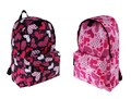 Pour Moi Girls Hearts Backpack/ Rucksack - Ideal for School, Travel, Gym