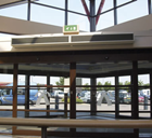 Dimplex DAB15A 1.5m Ambient 1 phase Air Curtain from the DAB Range