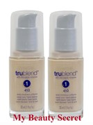 BULK 2 X COVERGIRL TRUBLEND FOUNDATION WITH BLENDABLE MINERALS