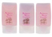 3 Piece pack of Shampoo, Conditioner, Shower Gel.  Box of 50 packs