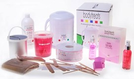 All over body waxing kit.