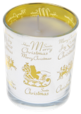 Christmas Candles in Silver & Gold