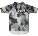 BLACK CAMO SWIM SHIRT - SIZE 4