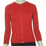 LADIES ZIP SWIM JACKET RED - 2XL - 3XL