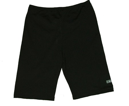 BLACK SWIM SHORTS- JUNIOR