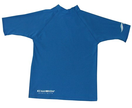 ROYAL BLUE SWIM SHIRT - MEDIUM