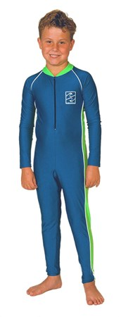 ROYAL BLUE & GREEN STINGER SUITS - YOUTH